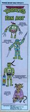 Teenage Mutant Ninja Turtles - full color Sunday comic page - January 3, 1993