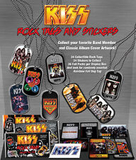KISS Dog Tag and Sticker Pack