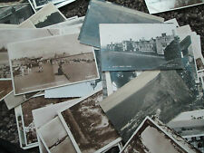 bulk lot  100 REAL PHOTO  POSTCARDS MIXED   MAINLY TOPOGRAPHICAL & pre 1960