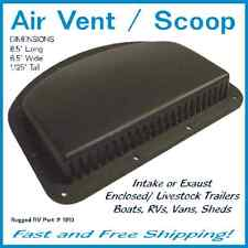 Air Vent / Scoop, Enclosed / Livestock Trailers, Rvs, Sheds, Campers, Home