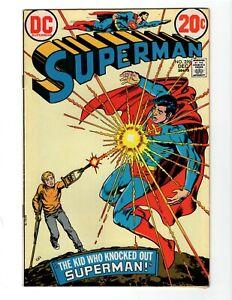SUPERMAN #259 (VG+) 1972
