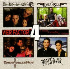 VIER FACTOR CD The Dreamside CRÜXSHADOWS Paralysed Age