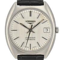 Auth Vintage LONGINES Conquest Date Automatic Men's Watch Q#87579
