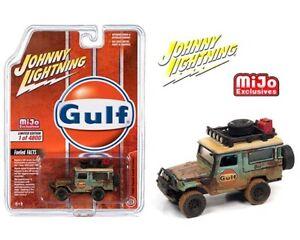 PRE-ORDER JOHNNY LIGHTNING 1980 GULF WEATHERED FJ CRUISER/ MIJO EXCLUSIVE