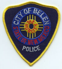BELEN NEW MEXICO NM The Hub City POLICE PATCH