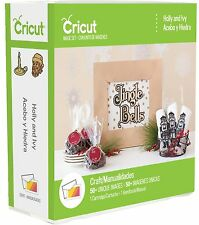 CRICUT *HOLLY AND IVY* CHRISTMAS CARTRIDGE *NEW* GIFT TAG CARD ORNAMENT GARLAND