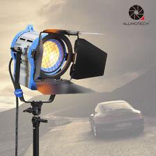 650W Pro Film  Lighting Fresnel Tungsten Spot light  Video Studio+Bulb+Barndoor
