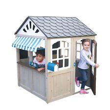 Hillcrest Wooden Outdoor Playhouse by KidKraft