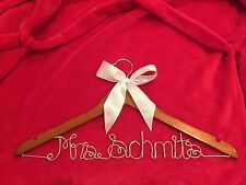 Personalized Name Wedding Hangers Made to Order - NEW!
