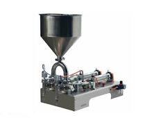 100-1000ml Double heads Cream Shampoo Cosmetic filler Automatic Filling Machine