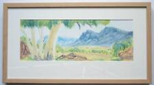 Framed Signed Hilary Wirri Watercolour Painting — Hermannsburg School