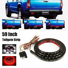 "Flexible 60"" LED Car Truck RV Tailgate Strip Bar Brake Reverse Turn Signal Light"