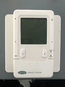 Used Carrier Infinity SYSTXCCUID01 Programmable Digital Thermostat Used