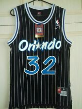 Nike Orlando Magic O NEAL BASKETBALL NBA Shaq Retro Maillot Shirt Homme Taille S