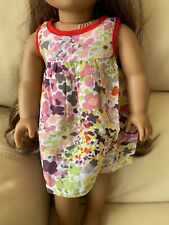 """Springfield Camo Floral Dress 18"""" Doll Clothes. American Girl Doll Not Included."""