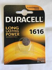 2 x Duracell CR1616 DL1616 3V Lithium Coin Cell Battery Long Lasting 2025