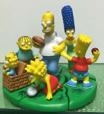 The simpsons  PICNIC!! Buildable figures Collection Set Of 7 Pcs