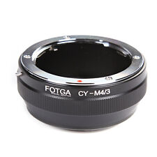 FOTGA Contax Yashica C/Y CY lens To Micro M4/3 Adapter Ring Fr E-P5 G7 GM5 E-M10