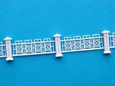 Z-M09 Zäune 1 Meter Zaun schmiedeeisern filigran NEU