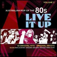 80's (2 CD) LIVE IT UP - AUSTRALIAN POP OF THE 80's - Volume 2 *NEW*
