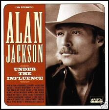 ALAN JACKSON - UNDER THE INFLUENCE ~ COUNTRY CD ~ JIMMY BUFFETT *NEW*