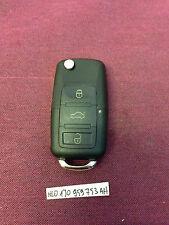 VW SEAT SKODA 3 Button Remote Key Fob HL0 1J0 959 753 AH CUT TO CODE OR PIC FREE