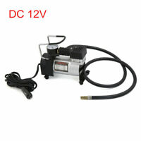 DC 12V Car Motorcycle Electric Air Compressor Tire Tyre Inflator Pump 100PSI
