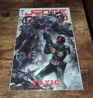 Judge Dredd: Toxic #1 John Gallagher Variant Cover IDW Comics Near Mint