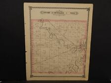 Kansas Saline County Map Dayton Township 1884 L9#91