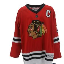 Chicago Blackhawks Youth Size  Jonathan Toews official NHL Reebok Jersey New