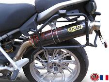 SILENCIEUX EXAN X-GP CARBONE MOTO GUZZI STELVIO 4V 8V 2008/14 - G727TO-C