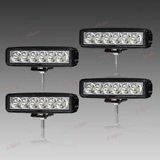 """4X 6"""" INCH Led Work Light Bar Pods Combo Cube Offroad SUV ATV 12V 24V Fog Bulb"""