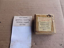 TRIUMPH 5T 6T T110 T120 OTHERS GEARBOX BRONZE CAGED BEARING LS8 NOS  15
