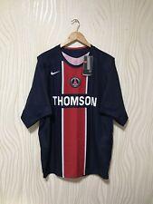 PSG PARIS SAINT GERMAIN 2005 2006 HOME FOOTBALL SOCCER SHIRT JERSEY BWT NIKE