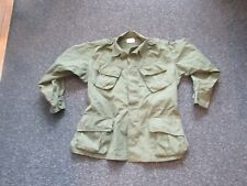 Vietnam war Us Army Combat coat, tropical, poplin size regular large epaulettes