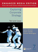 (Good)-Exploring Corporate Strategy: Text and Cases(Enhanced Media Edition) (Pap