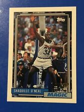 Shaquille O'Neal Rookie Card 1992-93 Topps #362 Orlando Magic NM-MINT