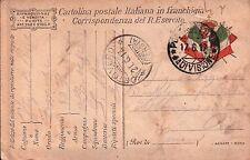 1917 FRANCHIGIA 49° FANTERIA BRIGATA PARMA - GENIO ZAPPATORI - DAL FRONTE C8-305