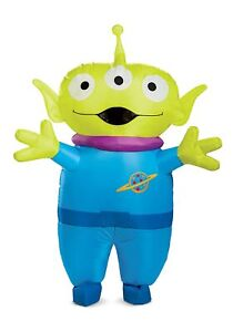 Disney Toy Story Adult Alien Inflatable Costume