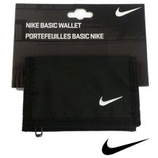 Nike Wallet Black Tri Fold Purse Money Card Holder Mens Womens Boys Girls Kids