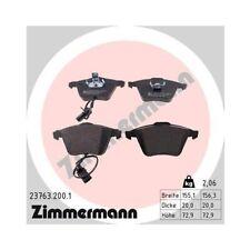 Bremsbelagsatz, Scheibenbremse ZIMMERMANN 23763.200.1 für AUDI VAG AUDI (FAW)