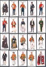 1911 John Players & Sons Ceremonial And Court Dress Tobacco Cards Complete Set