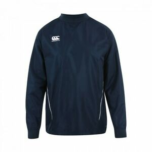 CANTERBURY RUGBY TEAM CONTACT TOP SIZE LARGE NAVY NEW FREE UK POSTAGE