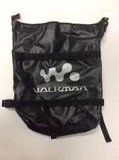 Vintage Walkman Black Canvas Back Pack