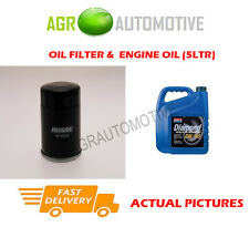 PETROL OIL FILTER + 0W40 ENGINE OIL FOR NISSAN 100NX 2.0 143 BHP 1991-94