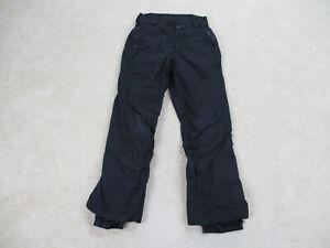 Columbia Pants Womens Medium Black Vertex Outdoors Winter Snow Hiking Ladies *