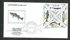 2008- Tunisia- Tunisie- Fishes- Poissons- FDC Extremely rare