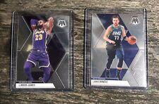 2019-20 Mosaic Lebron James Luka Doncic Basketball Cards