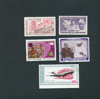 Guinea stamps - stamp lot of 5 - (lot 120)