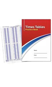 A5 Times Tables Practice Book.
